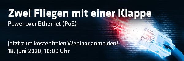 Webinar PoE Power over Ethernet